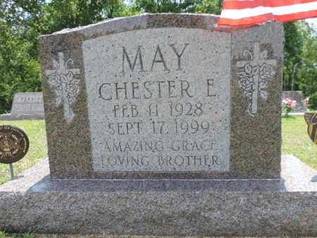 MAY, CHESTER E. - Pike County, Ohio | CHESTER E. MAY - Ohio Gravestone Photos