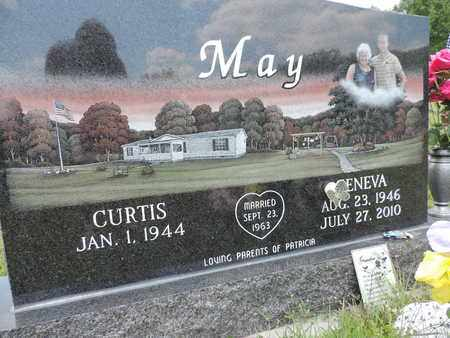 MAY, CURTIS - Pike County, Ohio | CURTIS MAY - Ohio Gravestone Photos