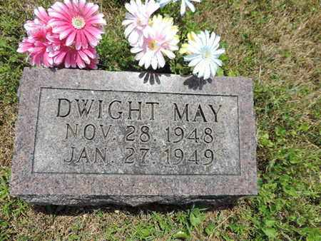 MAY, DWIGHT - Pike County, Ohio | DWIGHT MAY - Ohio Gravestone Photos