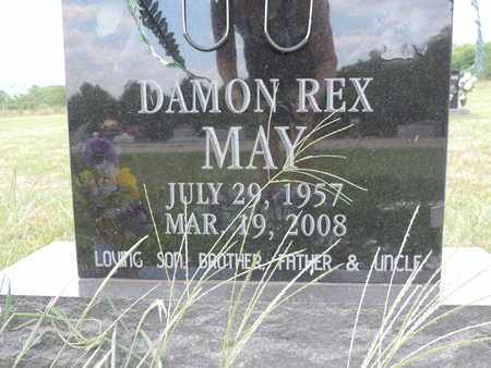 MAY, DAMON REX - Pike County, Ohio | DAMON REX MAY - Ohio Gravestone Photos