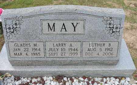 MAY, LUTHER B - Pike County, Ohio | LUTHER B MAY - Ohio Gravestone Photos