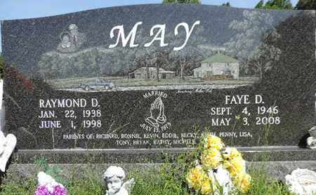 MAY, RAYMOND D. - Pike County, Ohio | RAYMOND D. MAY - Ohio Gravestone Photos