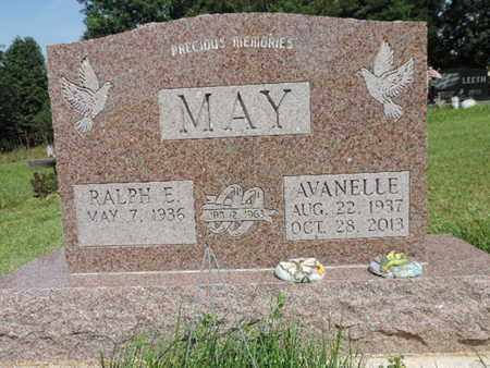 MAY, AVANELLE - Pike County, Ohio | AVANELLE MAY - Ohio Gravestone Photos