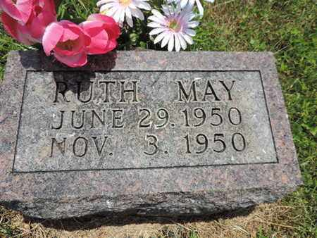 MAY, RUTH - Pike County, Ohio | RUTH MAY - Ohio Gravestone Photos