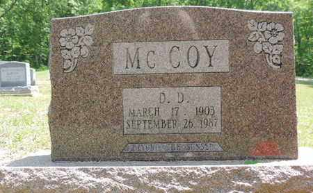 MCCOY, D.D. - Pike County, Ohio | D.D. MCCOY - Ohio Gravestone Photos