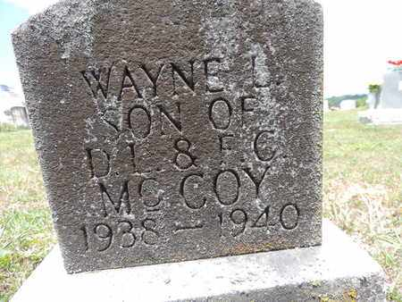 MCCOY, WAYNE L - Pike County, Ohio | WAYNE L MCCOY - Ohio Gravestone Photos