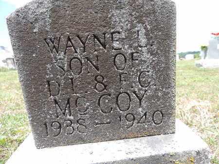 MCCOY, WAYNE L - Pike County, Ohio | WAYNE L MCCOY - Ohio Gravestone Photos