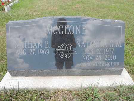 MCGLONE, NATHAN E. - Pike County, Ohio | NATHAN E. MCGLONE - Ohio Gravestone Photos