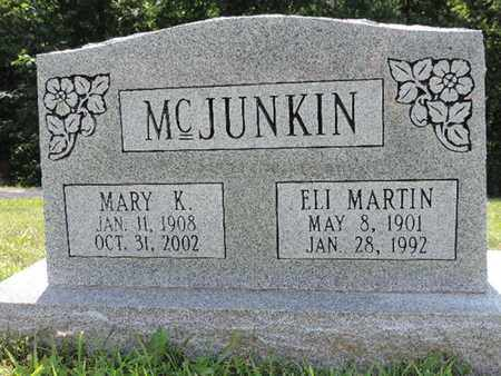 MCJUNKIN, MARY K. - Pike County, Ohio | MARY K. MCJUNKIN - Ohio Gravestone Photos