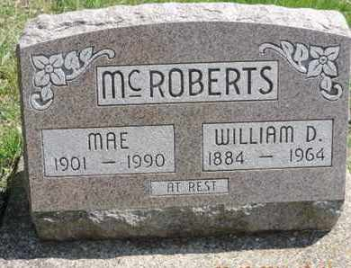 MCROBERTS, WILLIAM D. - Pike County, Ohio | WILLIAM D. MCROBERTS - Ohio Gravestone Photos