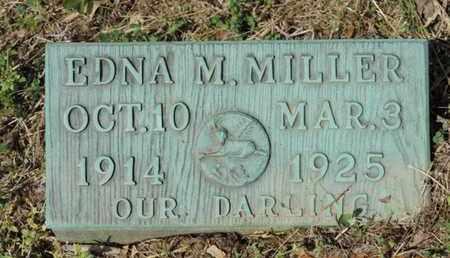 MILLER, EDNA M. - Pike County, Ohio | EDNA M. MILLER - Ohio Gravestone Photos