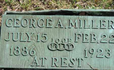 MILLER, GEORGE A. - Pike County, Ohio | GEORGE A. MILLER - Ohio Gravestone Photos