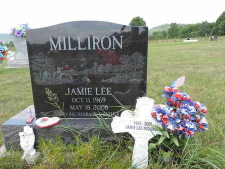 MILLIRON, JAMIE LEE - Pike County, Ohio | JAMIE LEE MILLIRON - Ohio Gravestone Photos