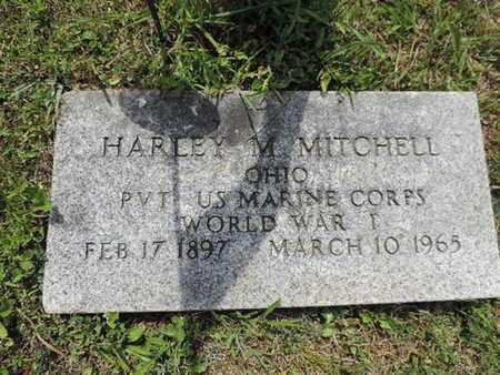 MITCHELL, HARLEY M. - Pike County, Ohio | HARLEY M. MITCHELL - Ohio Gravestone Photos