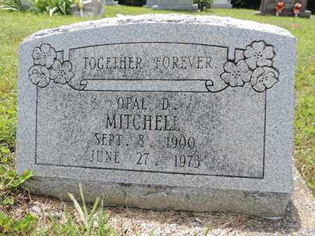 MITCHELL, OPAL D. - Pike County, Ohio | OPAL D. MITCHELL - Ohio Gravestone Photos