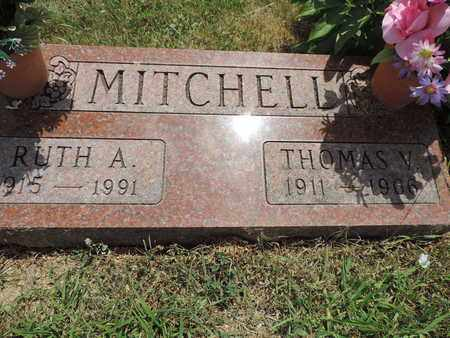 MITHCELL, RUTH A. - Pike County, Ohio | RUTH A. MITHCELL - Ohio Gravestone Photos