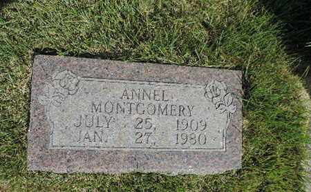 MONTGOMERY, ANNEL - Pike County, Ohio | ANNEL MONTGOMERY - Ohio Gravestone Photos