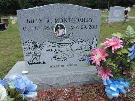 MONTGOMERY, BILLY R. - Pike County, Ohio | BILLY R. MONTGOMERY - Ohio Gravestone Photos
