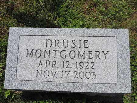 MONTGOMERY, DRUSIE - Pike County, Ohio | DRUSIE MONTGOMERY - Ohio Gravestone Photos