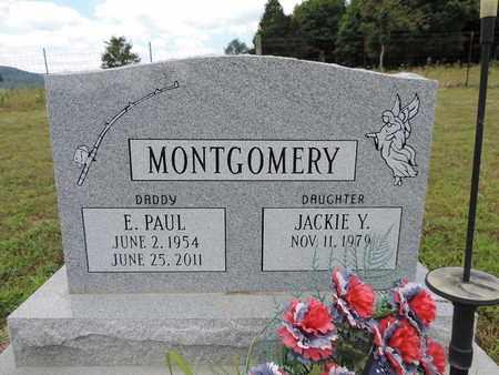 MONTGOMERY, JACKIE Y. - Pike County, Ohio | JACKIE Y. MONTGOMERY - Ohio Gravestone Photos