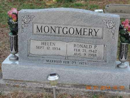 MONTGOMERY, RONALD P - Pike County, Ohio | RONALD P MONTGOMERY - Ohio Gravestone Photos