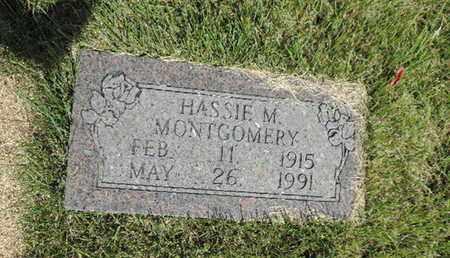 MONTGOMERY, HASSIE M. - Pike County, Ohio | HASSIE M. MONTGOMERY - Ohio Gravestone Photos
