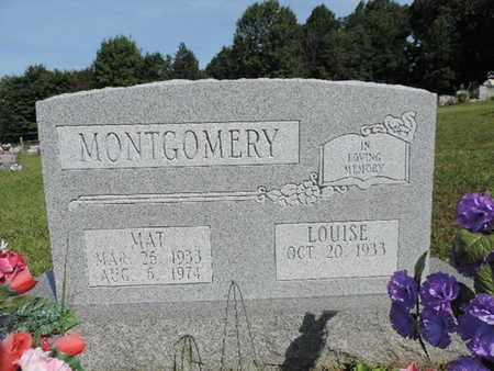 MONTGOMERY, MAT - Pike County, Ohio | MAT MONTGOMERY - Ohio Gravestone Photos