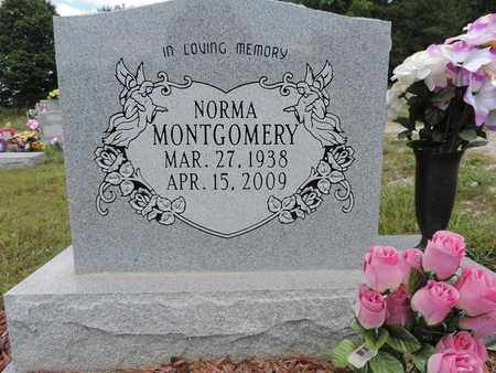 MONTGOMERY, NORMA - Pike County, Ohio | NORMA MONTGOMERY - Ohio Gravestone Photos