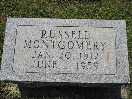 MONTGOMERY, RUSSELL - Pike County, Ohio | RUSSELL MONTGOMERY - Ohio Gravestone Photos