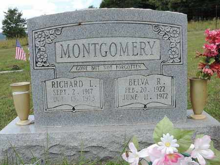 MONTGOMERY, BELVA R. - Pike County, Ohio | BELVA R. MONTGOMERY - Ohio Gravestone Photos