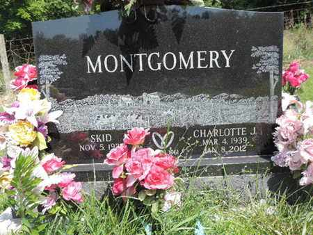 MONTGOMERY, CHARLOTTE J. - Pike County, Ohio | CHARLOTTE J. MONTGOMERY - Ohio Gravestone Photos