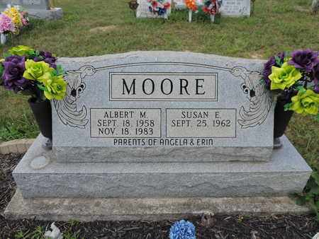 MOORE, ALBERT M. - Pike County, Ohio | ALBERT M. MOORE - Ohio Gravestone Photos