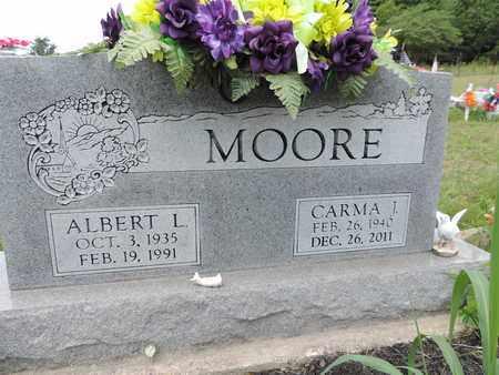 MOORE, ALBERT L. - Pike County, Ohio | ALBERT L. MOORE - Ohio Gravestone Photos