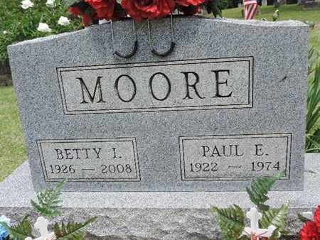 MOORE, BETTY I. - Pike County, Ohio | BETTY I. MOORE - Ohio Gravestone Photos