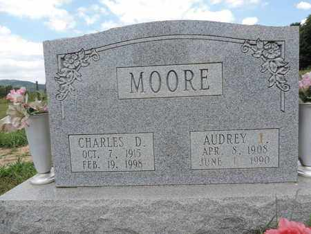 MOORE, AUDREY I. - Pike County, Ohio | AUDREY I. MOORE - Ohio Gravestone Photos