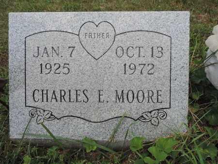 MOORE, CHARLES E. - Pike County, Ohio | CHARLES E. MOORE - Ohio Gravestone Photos