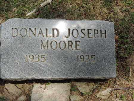 MOORE, DONALD JOSEPH - Pike County, Ohio | DONALD JOSEPH MOORE - Ohio Gravestone Photos