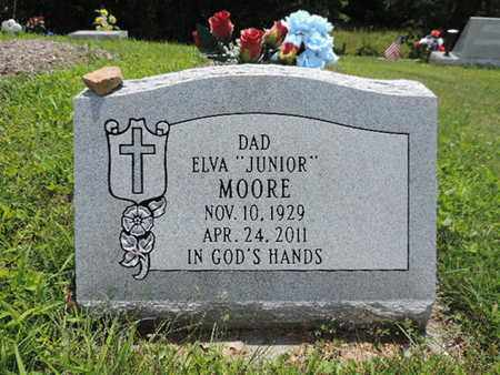 MOORE, ELVA - Pike County, Ohio | ELVA MOORE - Ohio Gravestone Photos