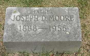 MOORE, JOSEPH D. - Pike County, Ohio | JOSEPH D. MOORE - Ohio Gravestone Photos