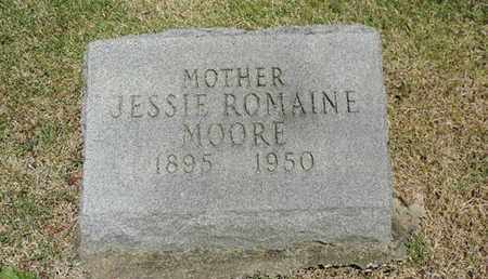 MOORE, JESSIE - Pike County, Ohio | JESSIE MOORE - Ohio Gravestone Photos