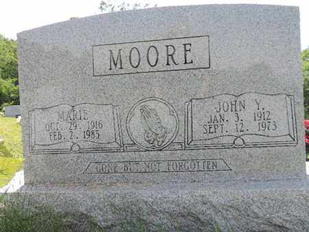 MOORE, MARIE - Pike County, Ohio | MARIE MOORE - Ohio Gravestone Photos