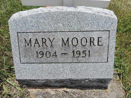 MOORE, MARY - Pike County, Ohio | MARY MOORE - Ohio Gravestone Photos