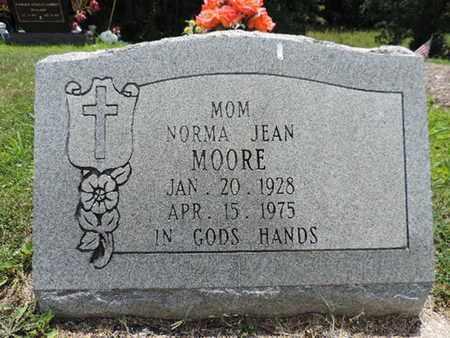 MOORE, NORMA JEAN - Pike County, Ohio | NORMA JEAN MOORE - Ohio Gravestone Photos