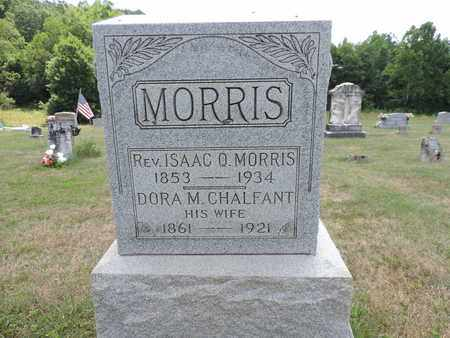 MORRIS, ISAAC O. - Pike County, Ohio | ISAAC O. MORRIS - Ohio Gravestone Photos