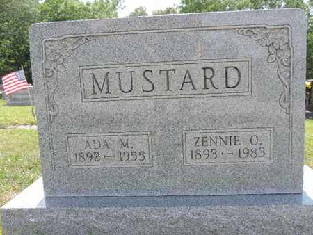 MUSTARD, ZENNIE O. - Pike County, Ohio | ZENNIE O. MUSTARD - Ohio Gravestone Photos