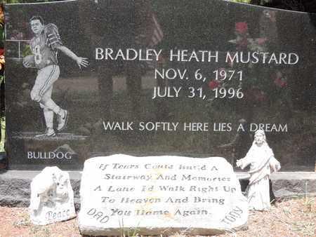 MUSTARD, BRADLEY HEATH - Pike County, Ohio | BRADLEY HEATH MUSTARD - Ohio Gravestone Photos
