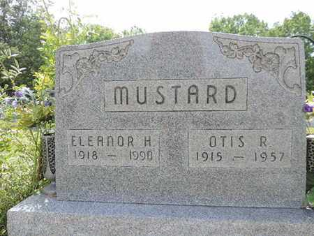 MUSTARD, OTIS R. - Pike County, Ohio | OTIS R. MUSTARD - Ohio Gravestone Photos