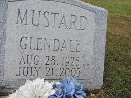 MUSTARD, GLENDALE - Pike County, Ohio | GLENDALE MUSTARD - Ohio Gravestone Photos