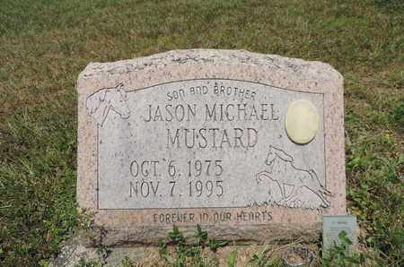 MUSTARD, JASON MICHAEL - Pike County, Ohio | JASON MICHAEL MUSTARD - Ohio Gravestone Photos