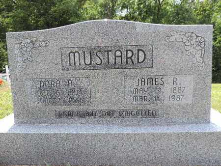 MUSTARD, JAMES R. - Pike County, Ohio | JAMES R. MUSTARD - Ohio Gravestone Photos